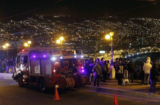 In Chile hat sich am Mittwochabend ein starkes Erdbeben ereignet.  Foto: EFE