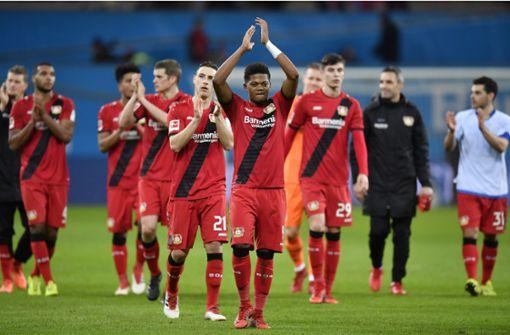 Leverkusen dank Bailey zurück auf Platz zwei