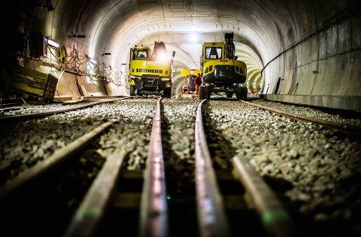 Der laufende Ausbau der Stadtbahnlinie U12 zwischen Dürrlewang und Remseck ist im Entwurf des Nahverkehrplans enthalten. Foto: Lichtgut/Max Kovalenko