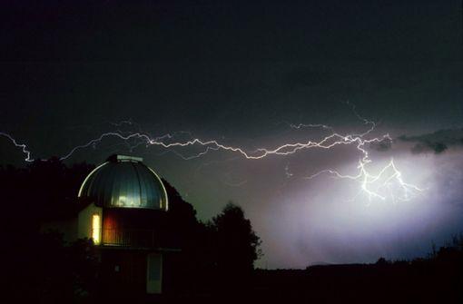 Die Sternwarte Welzheim fängt faszinierende Eindrücke ein – auch vom Wetter.  Foto: Sternwarte Welzheim