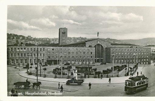 Die Nordseite des Hauptbahnhofs in den 1920ern Foto: Sammlung Udo Becker