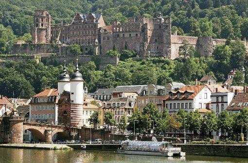 Heidelberg hat die schönste Innenstadt im Südwesten