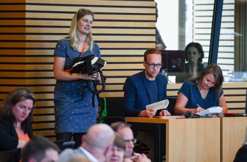 Landtagspräsident Carius will Babys im Sitzungssaal erlauben