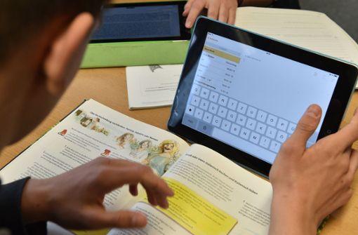 Wie sinnvoll sind Tablets im Unterricht? Foto: dpa