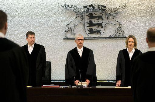 Am Infoformationstag der Stuttgarter Justiz kann man hinter die Kulissen schauen. Foto: dpa