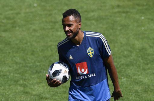 Schwede Isaac Kiese Thelin verletzt sich im Training