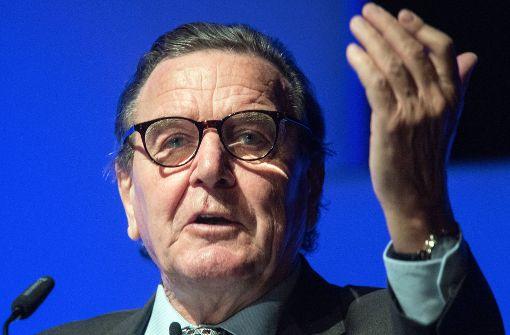Altkanzler Gerhard Schröder vermittelte bei Erdogan