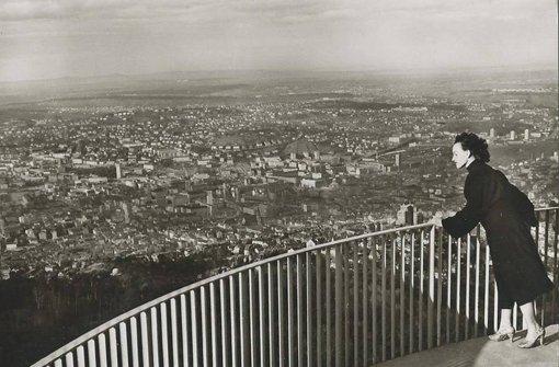 Kurz nach der Eröffnung des Fernsehturms im Jahr 1956 Foto: Sammlung Wieczorek