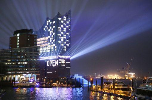 Die Elbphilharmonie in Hamburg wurde nach fast zehnjähriger Bauzeit eröffnet.     Foto:dpa Foto: