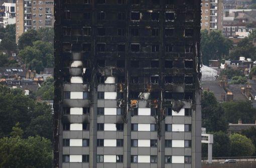 Polizei veröffentlicht Fotos aus Brandruine