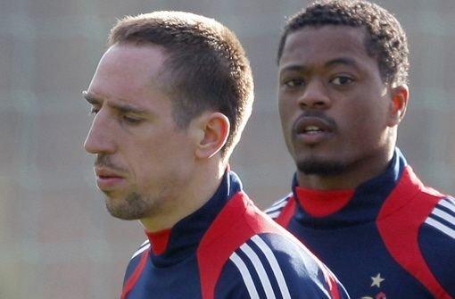 Blanc begnadigt Ribéry und Evra