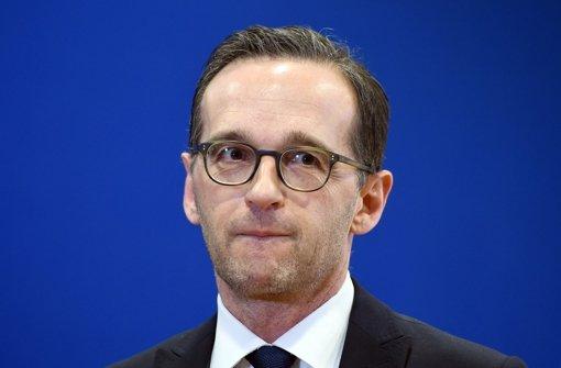 Bundesjustizminister Heiko Maas hält die massenhaften sexuellen Übergriffe in mehreren deutschen Städten für geplant. Foto: dpa