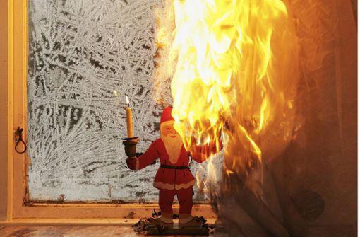 Advent, Advent, das Zimmer brennt