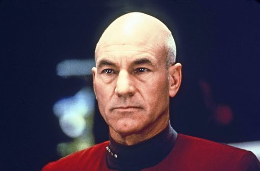 "Einmal Picard, immer Picard: Patrick Stewart im ""Enterprise""-Dress Foto: Imago Images/ United Archives/kpa Publicity"