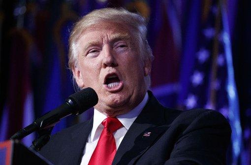 Trump bleibt bei Betrugsvorwurf