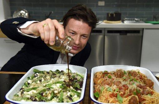 Jamie Oliver köchelt in München