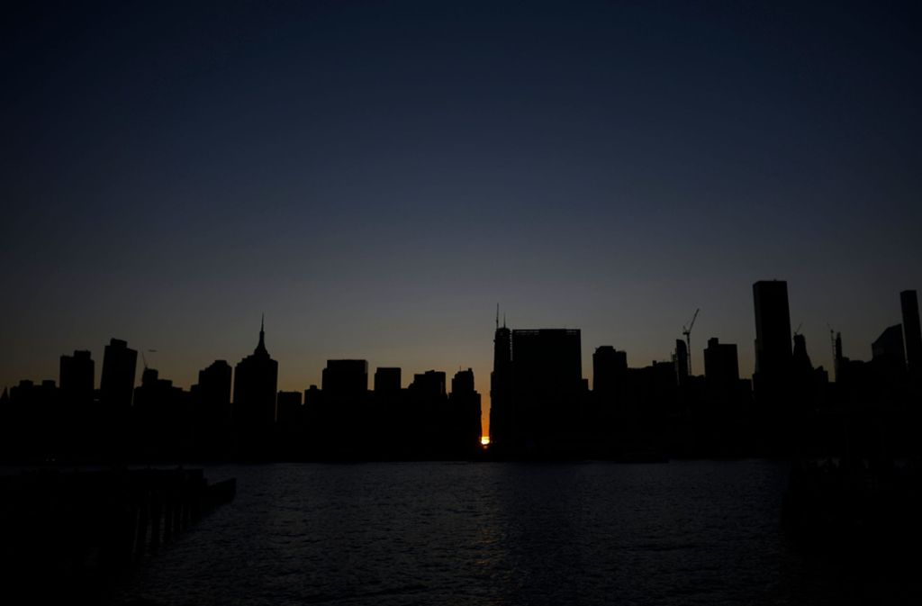 Stromausfall in New York (Archivbild) Foto: AFP