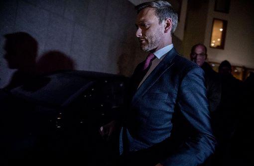 Grünen-Geschäftsführer: FDP stiehlt sich aus Verantwortung