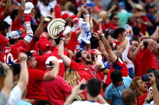 So euphorisch feiert Panama sein erstes WM-Tor