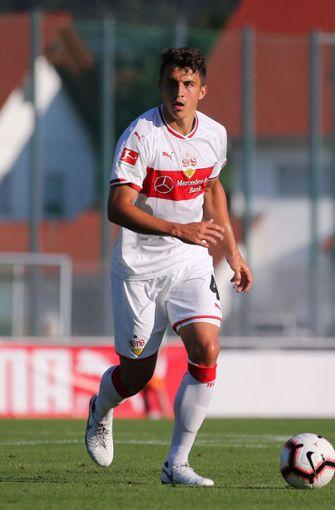 Vom SC Freiburg kam Marc-Oliver Kempf zum VfB. Der Verteidiger kam ablösefrei vom Ligakonkurrenten und unterschrieb für 2022. Zum Pflichtspieleinsatz kam der 23-Jährige allerdings noch nicht. Foto: Pressefoto Baumann
