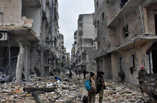 Rebellen: Neue Waffenruhe für Aleppo tritt in Kraft