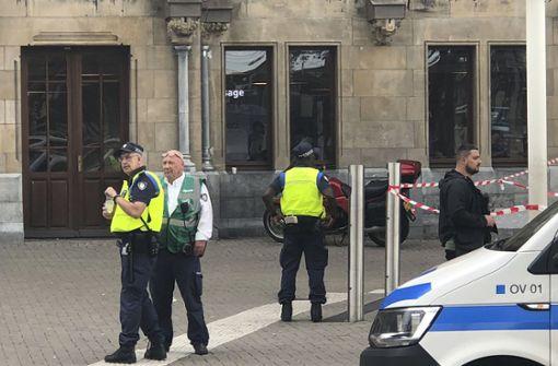 Ein Mann hatte im Bahnhof von Amsterdam zwei Menschen niedergestochen. Foto: AP