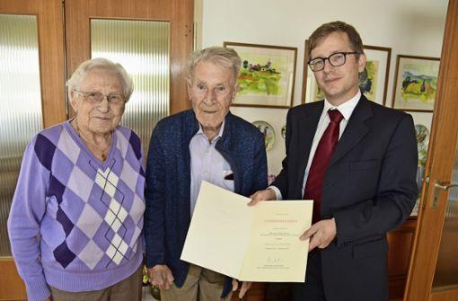 Die Gnade, 70 Jahre verheiratet zu sein