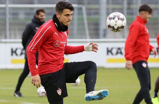 Marc Oliver Kempf im Training. Foto: Pressefoto Baumann