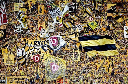 Die Dresdner Fans haben ein schlechtes Image, doch ein genauere Blick in die Fanszene offenbart eine positive Entwicklung. Foto: Bongarts