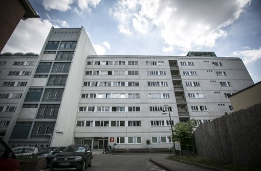Die Zukunft des Bürgerhospital-Gebäudes ist ungewiss Foto: Lichtgut/Leif Piechowski