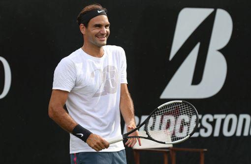 Mischa Zverev winkt ein Duell mit Roger Federer
