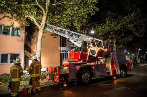 Vier Brände in einer Nacht in Esslingen