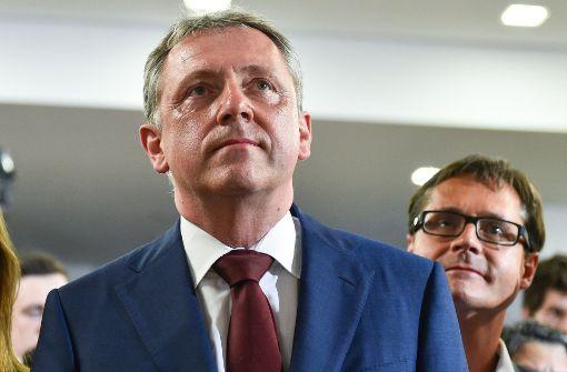 Der Mannheimer Oberbürgermeister Peter Kurz (SPD) Foto: dpa