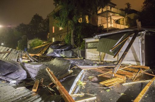 Frau stirbt durch Unwetter in Bayern