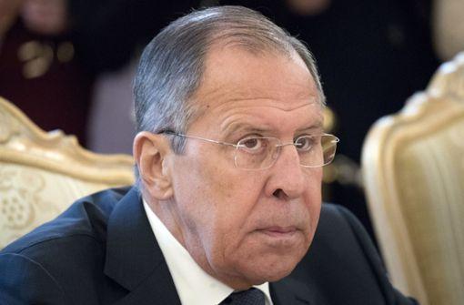 Russland will britische Diplomaten ausweisen