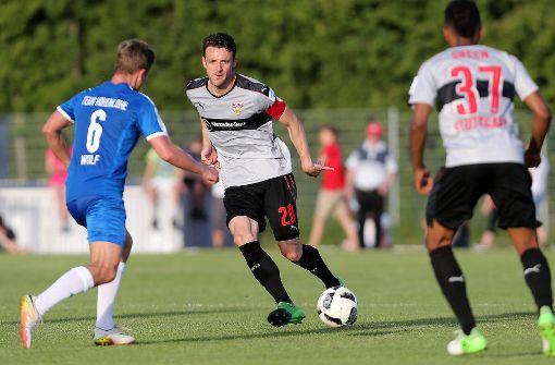 Der VfB ohne Terodde, Pavard und Asano in Hohenlohe