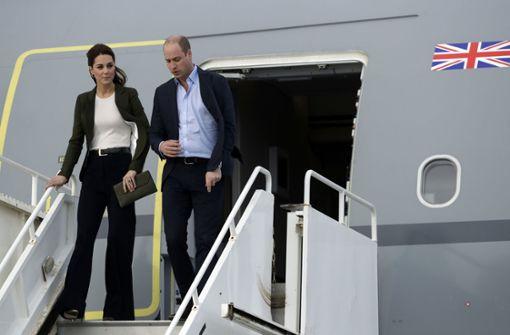 Am Mittwoch landete der Flieger direkt auf dem Militärflughafen auf Zypern. Foto: AP