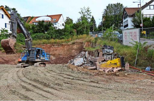 Die halb fertigen Gebäude sind abgerissen worden. Foto: Julia Bosch
