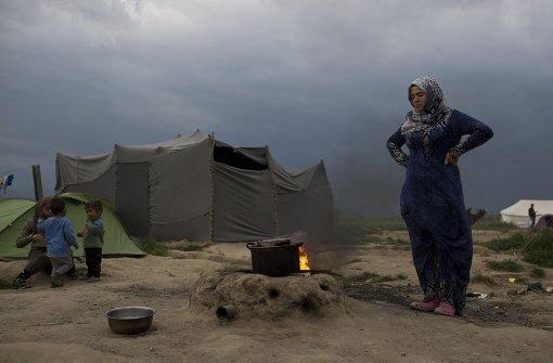 Millionen Menschen suchen innerhalb des eigenen Landes Schutz vor Krieg und Gewalt. Foto: AP