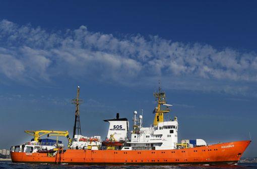 """""""Aquarius"""" darf auf Malta anlegen"""