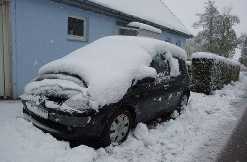 Bis zu 15 Zentimeter Schnee in Baden-Württemberg