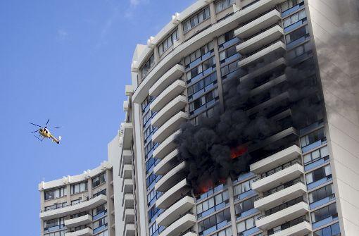 Drei Menschen sterben in den Flammen