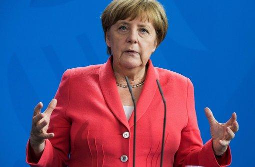 Merkel führt erneut vor Hillary Clinton