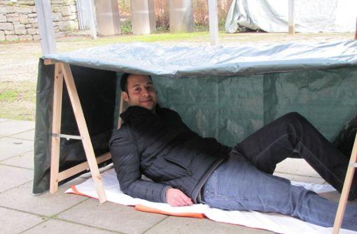 Die mobile Minihütte für Mensch und Hund