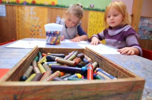 Damit mehr Kinder einen Betreuungsplatz haben, plant die Stadt provisorische Kita-Container Foto: Hildenbrand