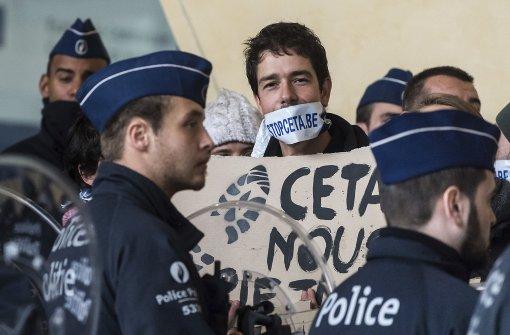 Ceta kurz vor dem Ziel - belgische Kritiker erzielen Teilsieg