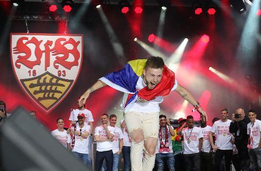 Alexandru Maxim wird zum Feierbiest