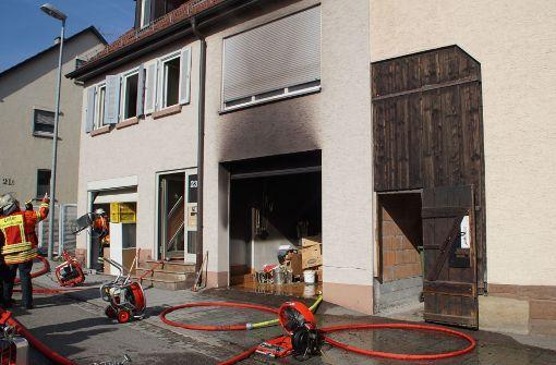 Drei Verletzte nach Brand im Keller