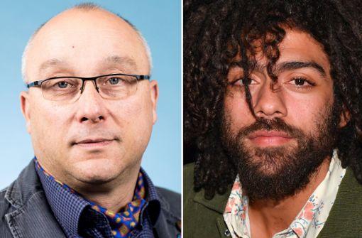 Nach einer rassistischen Twitter-Äußerung über Noah Becker (rechts) hat die Staatsanwaltschaft Dresden ein Ermittlungsverfahren gegen den AfD-Bundestagsabgeordneten Jens Maier wegen des Verdachts der Beleidigung eingeleitet. Foto: dpa