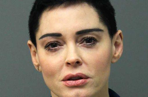 Rose McGowan vorübergehend festgenommen